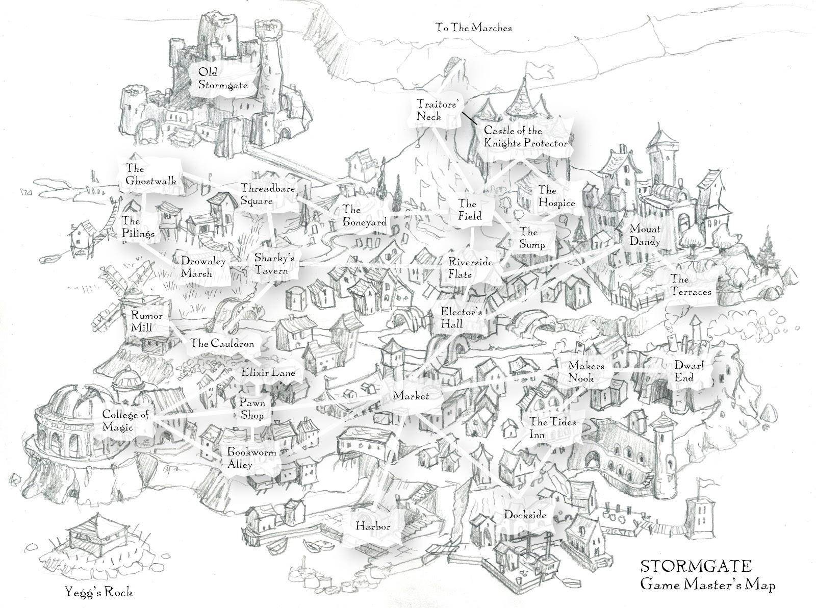 the dark eye rpg map pdf