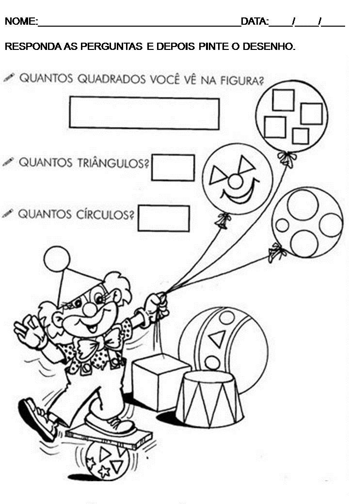 Matemática para educação infantil