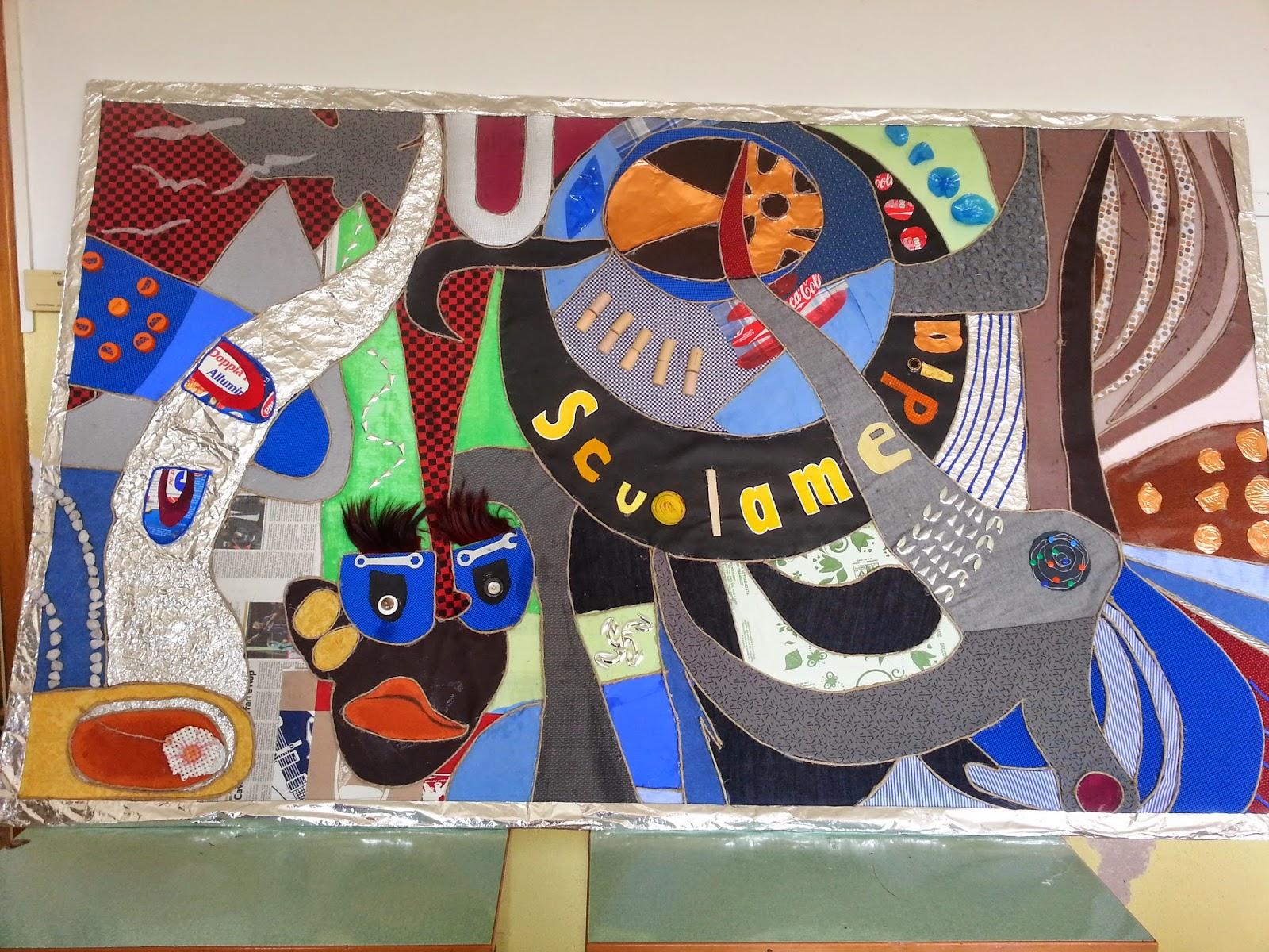Creare a scuola pannelli decorativi materici scuola - Pannelli decorativi ...