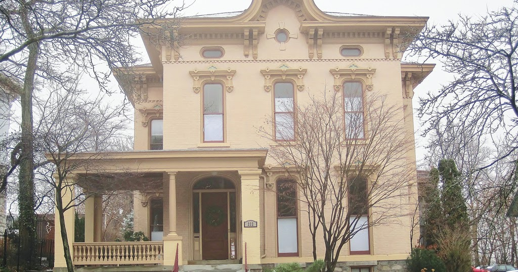 The picturesque style italianate architecture the john for Architects grand rapids mi
