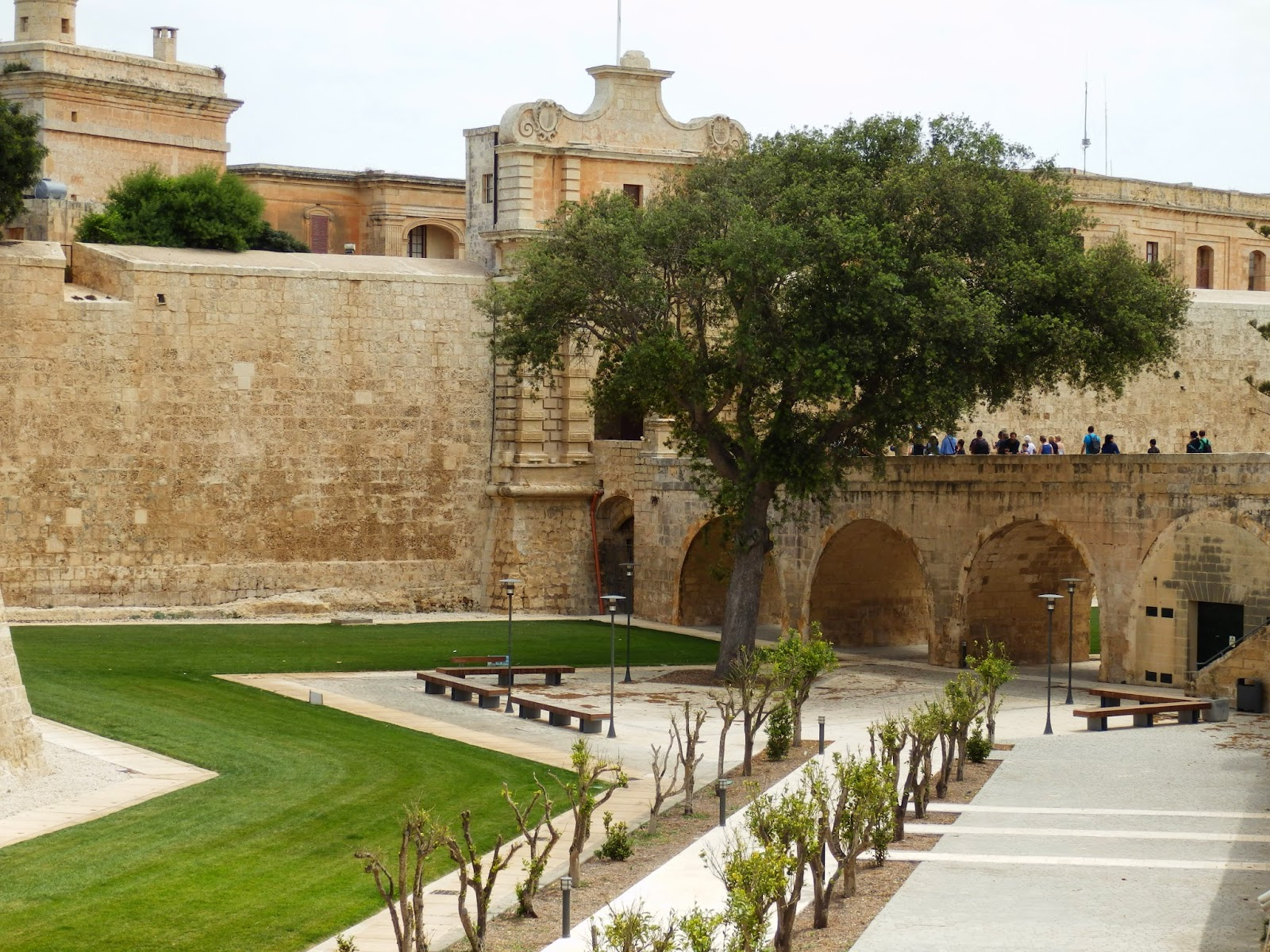 Entrance to Mdina, Malta