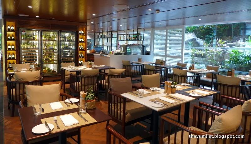 Waterfall Restaurant, Shangri-La Hotel Singapore
