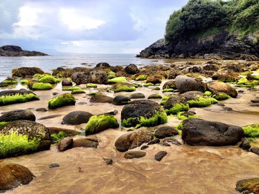 Fintra Beach Donegal Rocks