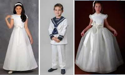 Vestidos de primera comunion para ninos y ninas