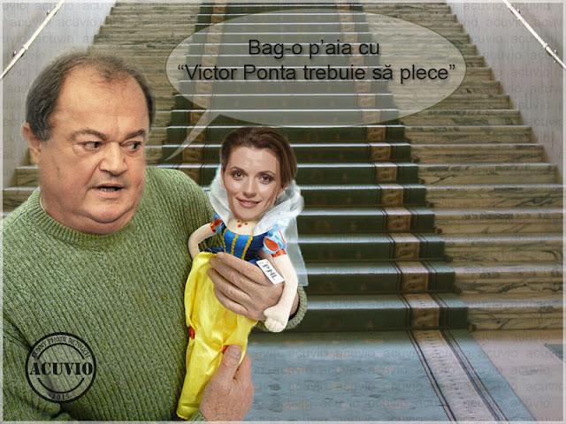 Alina Gorghiu şi Vasile Blaga funny photo
