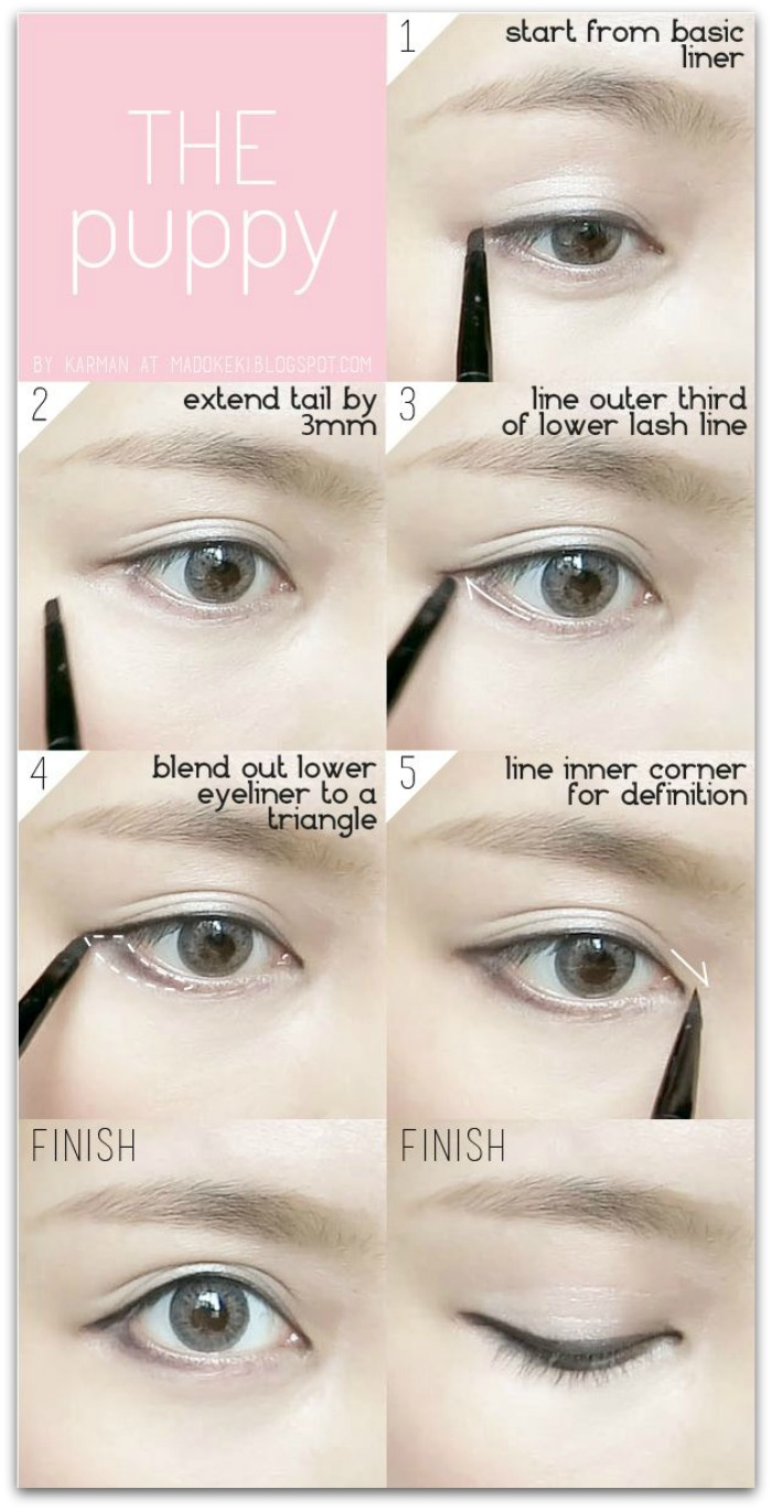 http://madokeki.blogspot.com.es/2014/07/10-ways-to-wear-eyeliner-for-everyday.html