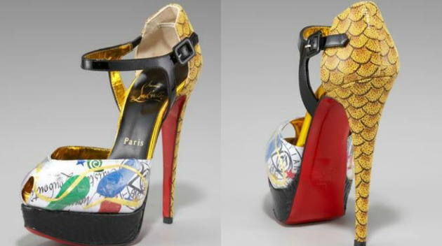 christian louboutin trash collection