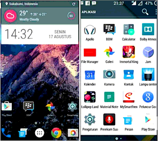 Custom Rom Lollipop The Last V.6
