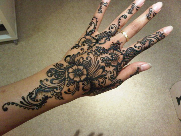 Women Beauty Tips 10 Gorgeous Wrist Mehndi Designs