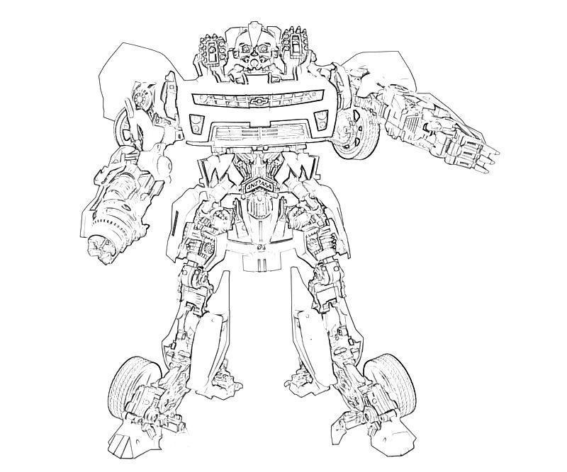 Transformers Fall of Cybertron Bumblebee Action Mario