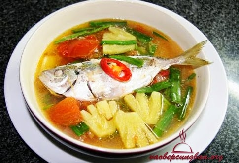 Canh cá chỉ vàng nấu chua ngon ngọt đưa cơm