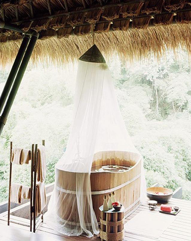 Moustiquaire baignoire