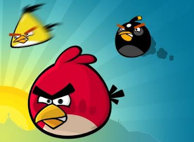 Angry Birds - Red bird, Yellow Bird and Black Bird