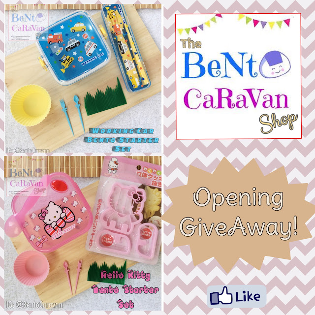 The Bento CaraVan Shop Opening GiveAway
