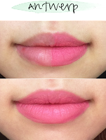 soft matte lip cream, nyx, urban outfitters, makeup, lip cream, lips, review, swatches, thoughts, antwerp, before, after, lip swatch