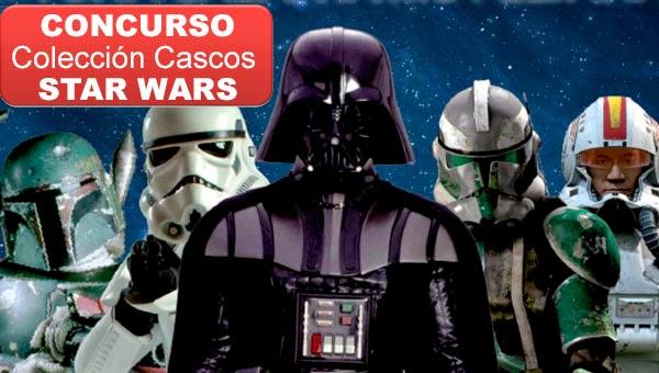 Concurso Colección Cascos Star Wars