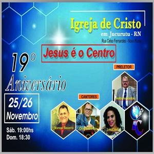 Aniversário da Igreja de Cristo em Jucurutu