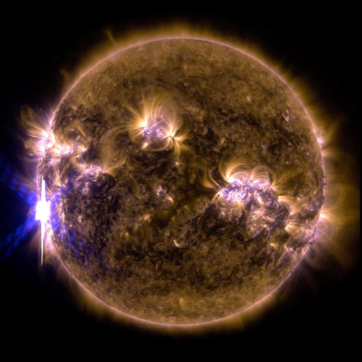 интензивни слънчеви изригвания