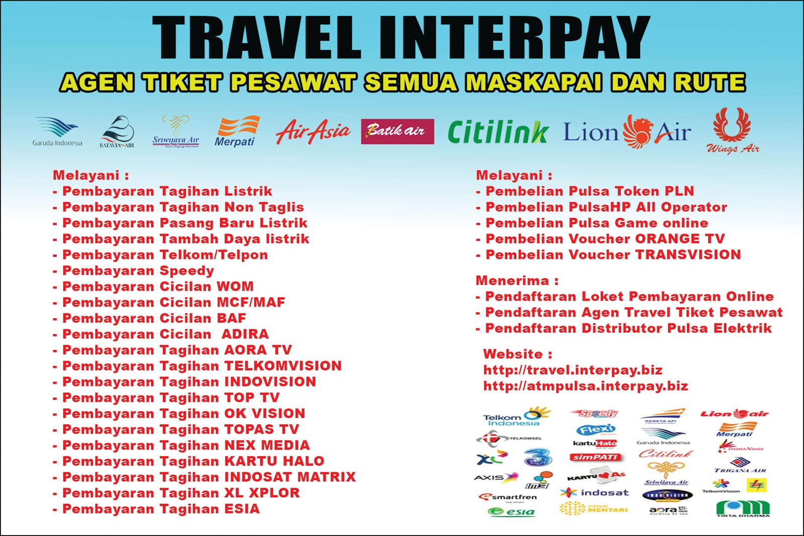 AGENT TRAVEL INTERPAY