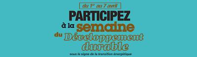la Semaine du développement durable 2013