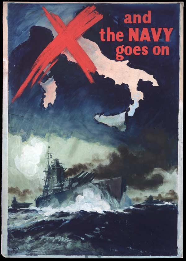 British navy ww2 propaganda poster foster