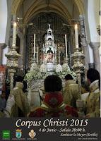 Sanlúcar la Mayor - Corpus Christi 2015