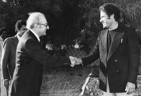 Avec Mouammar Khadafi-1977