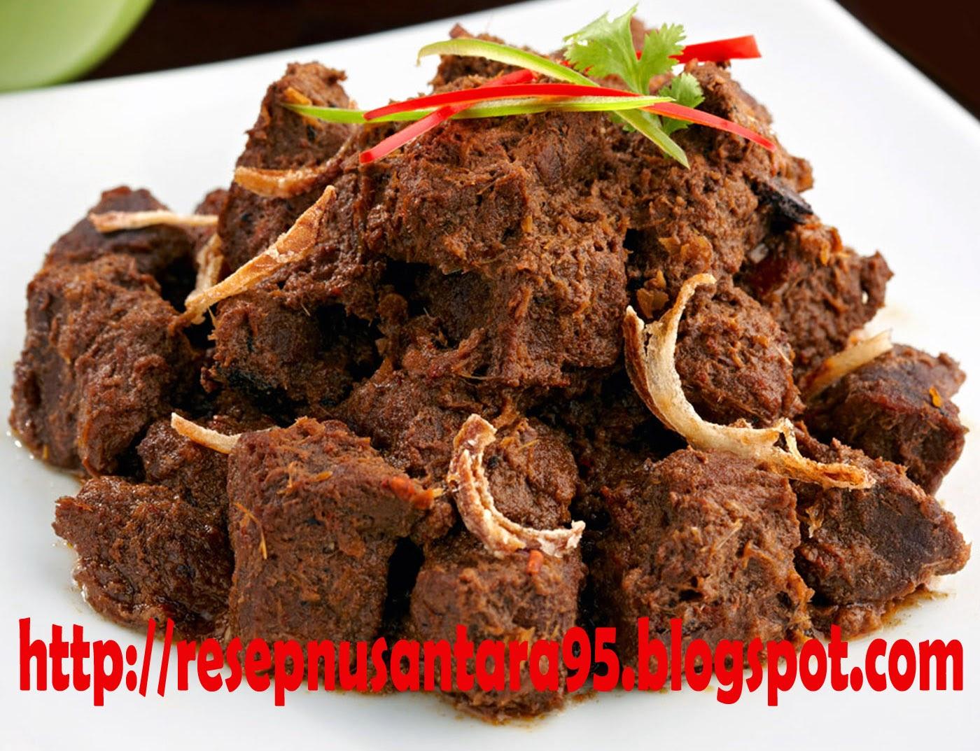 Resep Masakan   Resep Rendang Padang Kering dan Enak