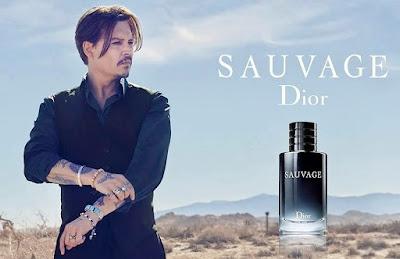 Джонни Депп в рекламе парфюма Dior Sauvage 2015