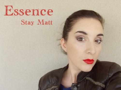 essence stay matt swatch, swatch stay matte, stay matt swatch, lip cream stay matt essence