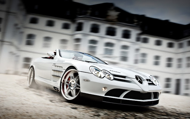 Imagenes del Mercedes-Benz SLR McLaren Roaster Blanco
