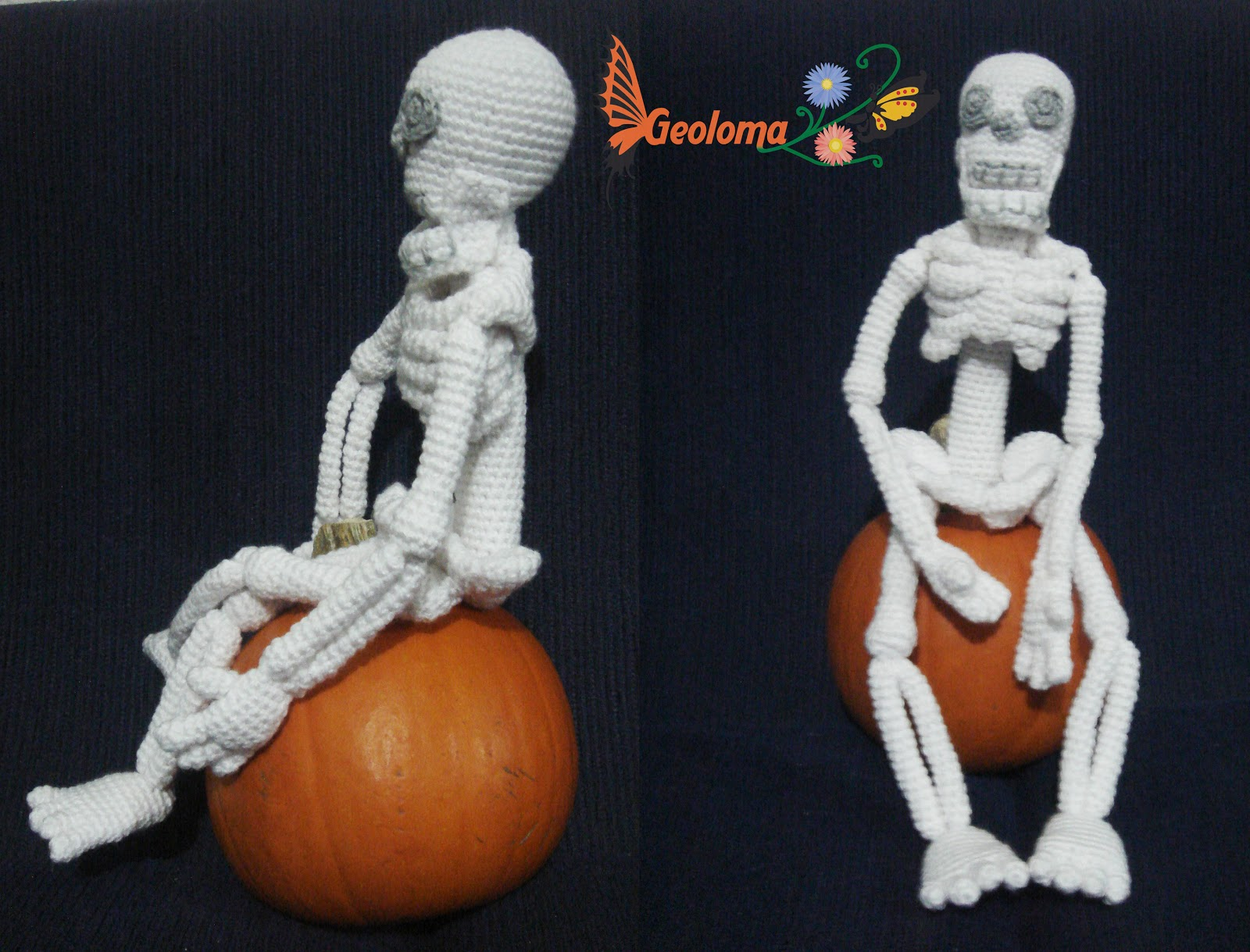 GEOLOMA: Esqueleto Amigurumi