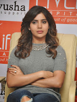 Samantha Glam pics at Pratyusha NGO Event-cover-photo