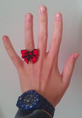 DIY anillo lazo de madera