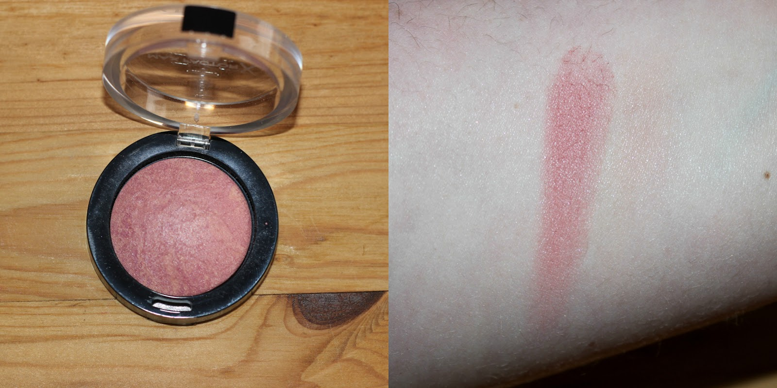 Maxfactor Creme Puff Blush In Seductive Pink Swatch