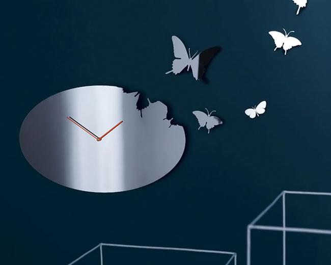 ديكور ساعات حائط حديثة , مودرن 2013