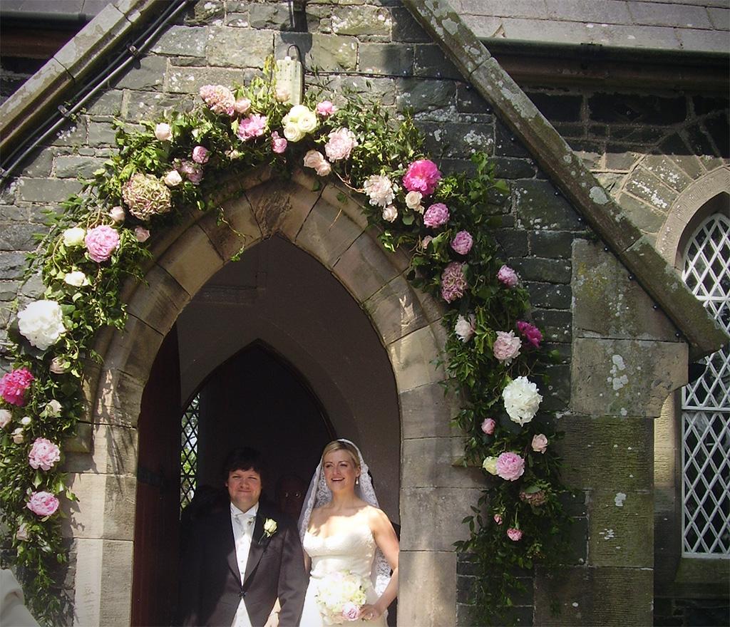 Muyameno Com Arcos De Flores Para Iglesias 1