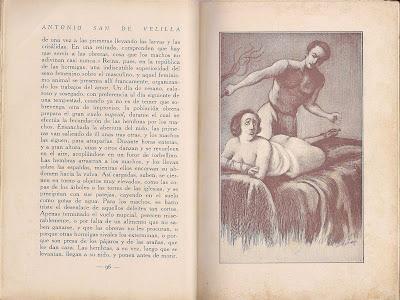 san de velilla la flagelacion erotica, 1932 dibujo de zurriago