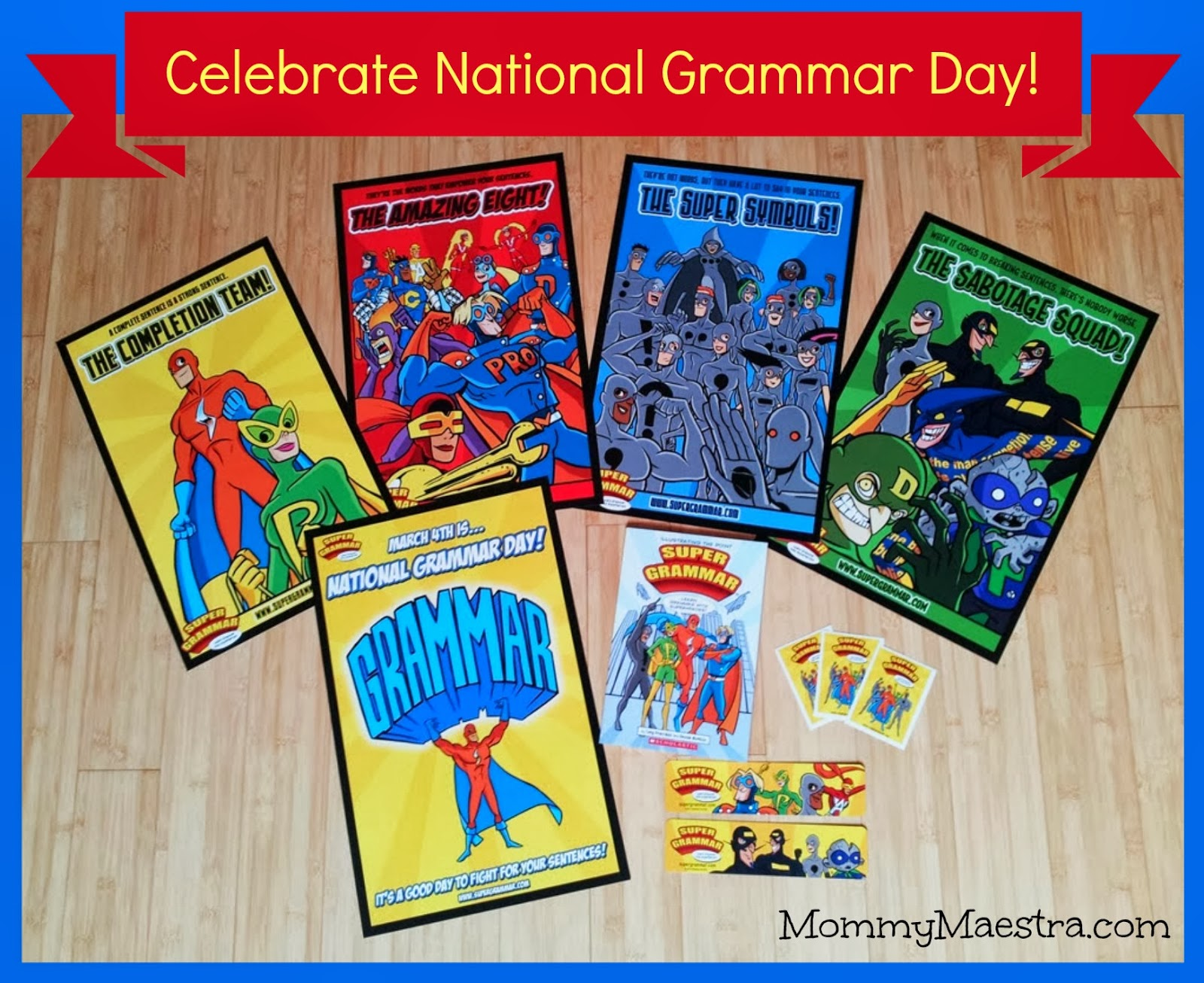 National Grammar Day Giveaway