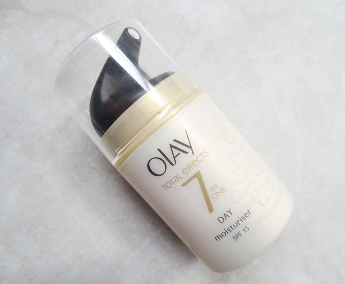 - Olay Total Effects 7-in-1 Moisturiser spf