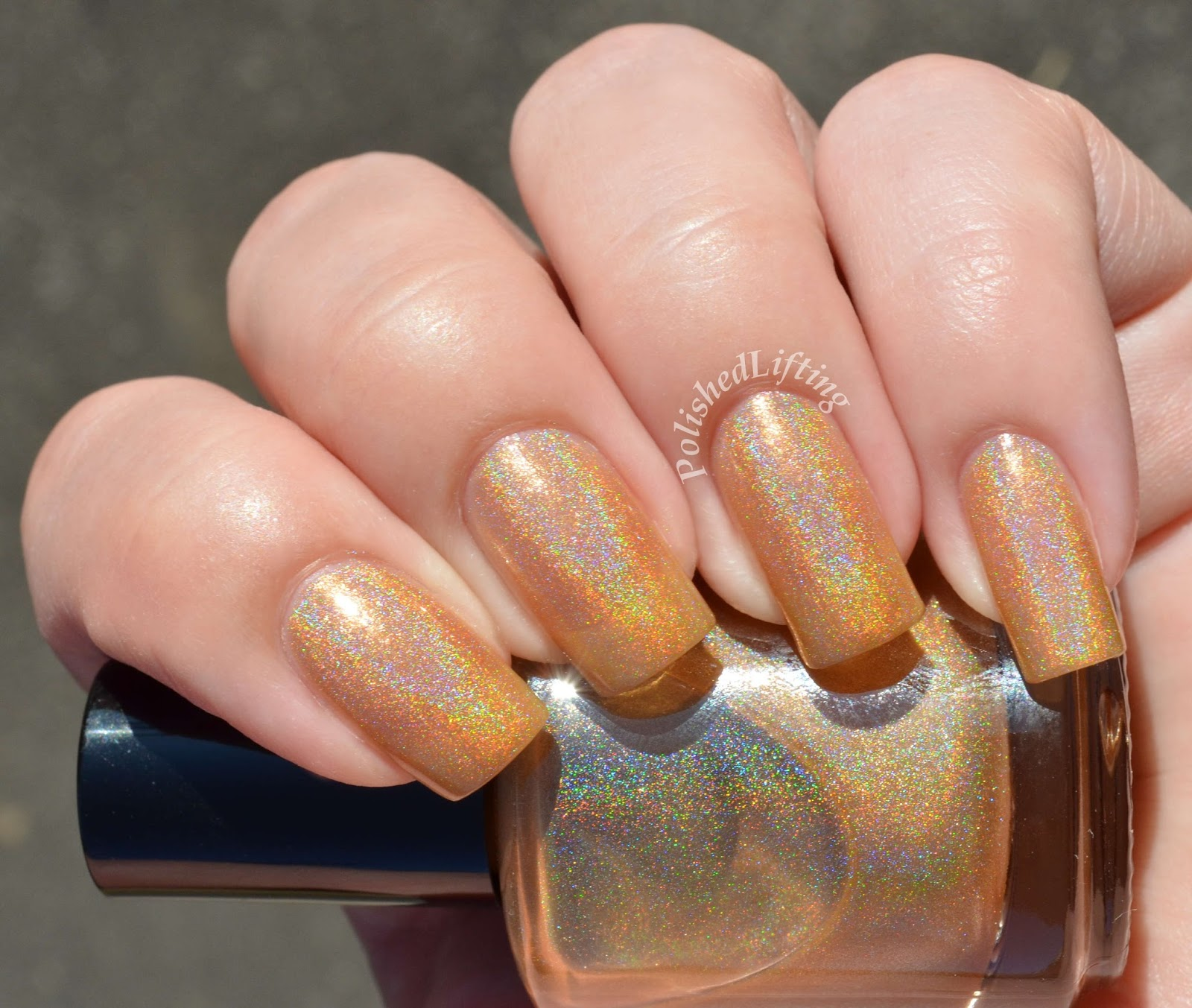Octopus Party Nail Lacquer Gold Vibrations