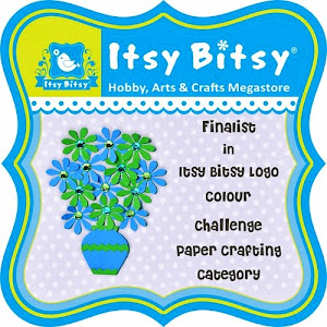 Itsy Bitsy's colour logo challenge finalist!