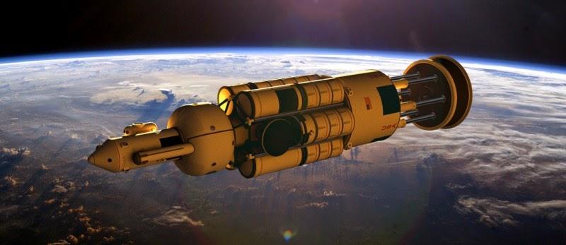 Propulsión nuclear por pulsos: Proyecto Orión.
