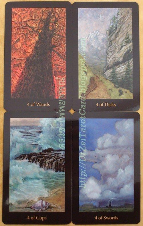 Four of Swords Wands 4 of Disks Pentacles Mary El Tarot Elements ธาตุ ระบบพลังงานธาตุ ธาตุดิน ธาตุน้ำ ธาตุลม ธาตุไฟ ดินน้ำลมไฟ เหรียญ ไม้เท้า คฑา ดาบ ไพ่ทาโร่ ไพ่ยิปซี คทา ไพ่ทาโรต์แมรี่เอล
