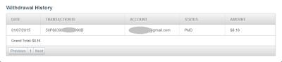 Bukti Pembayaran Adf.ly Pertama