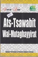 ats tsawabit wal mutaghayyirat rumah buku iqro buku dakwah