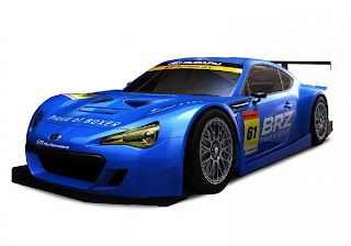 Subaru BRZ Super GT 2012 (Rendering) Front Side