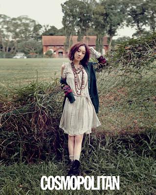 Jung Ryeo Won - Cosmopolitan Magazine July Issue 2013