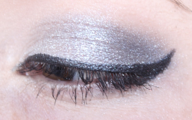 Makeup: Blue Shimmer Eyes