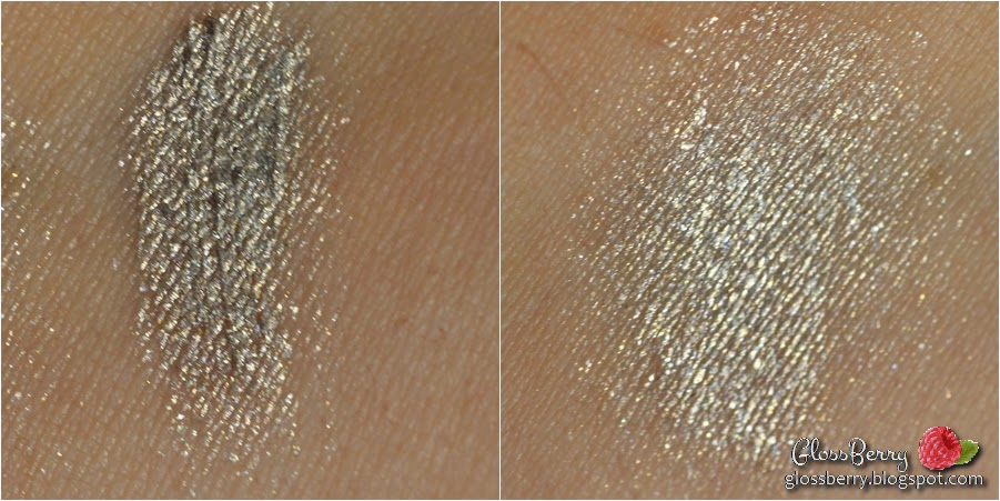 new cid i-color i-colour cream eyeshadow twilight green silver golden shimmer metallic צללית שימרית מטאלית ירוקה כסופה review swatch